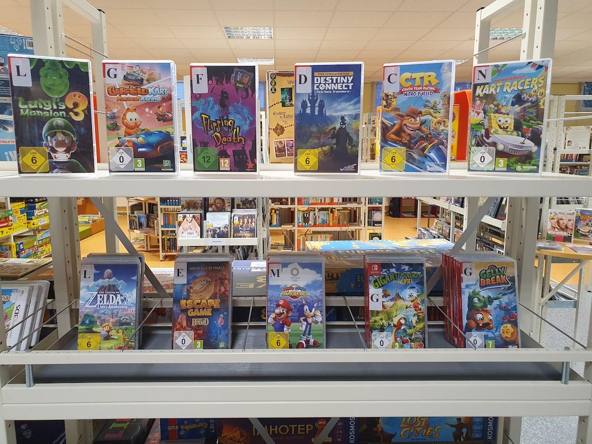 Stadtbibliothek bietet Onleihe und Abholservice an