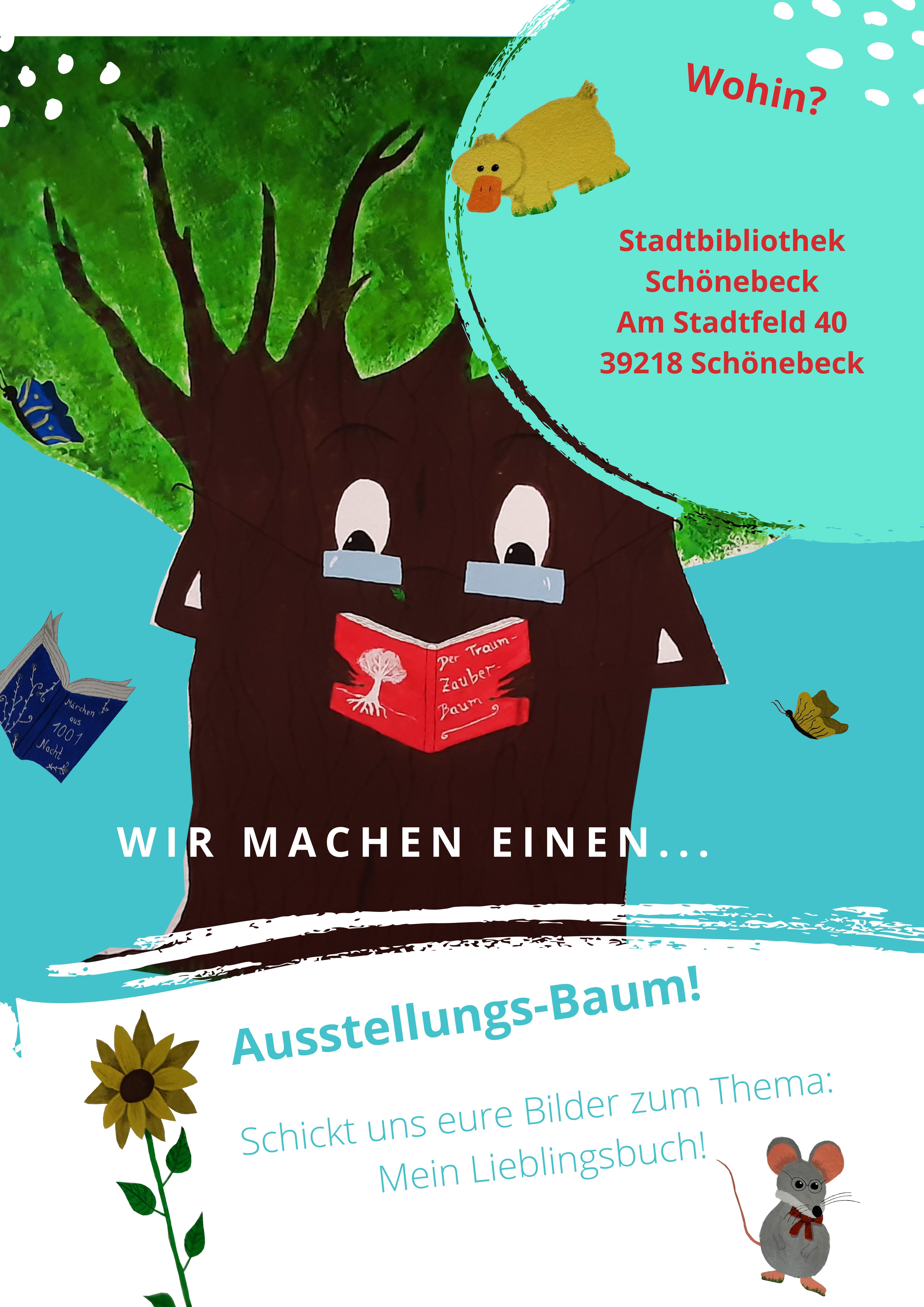 Stadtbibliothek Schönebeck: Aufruf zum Malen